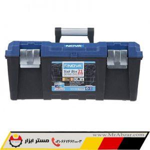 جعبه ابزار پلاستیکی نوا 6021
