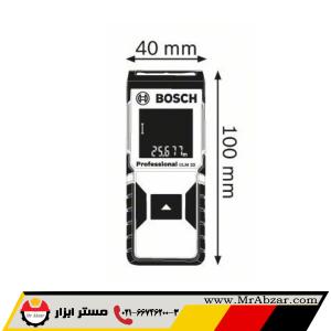 متر لیزری بوش GLM 30