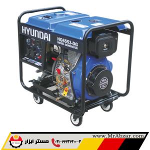 ژنراتور برق گازوئیلی هیوندای HG6553-DG